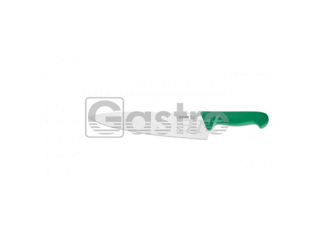 Nůž kuchařský 26 cm - zelený