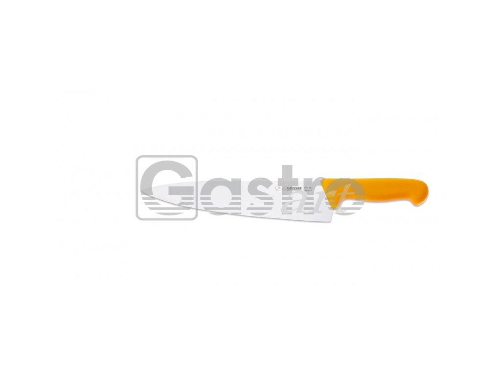 Nůž kuchařský 26 cm - žlutý