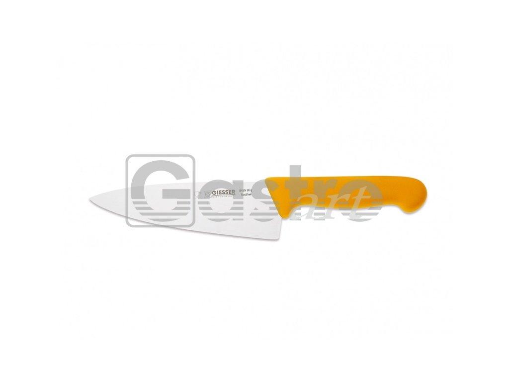 Nůž kuchařský 20 cm - žlutý