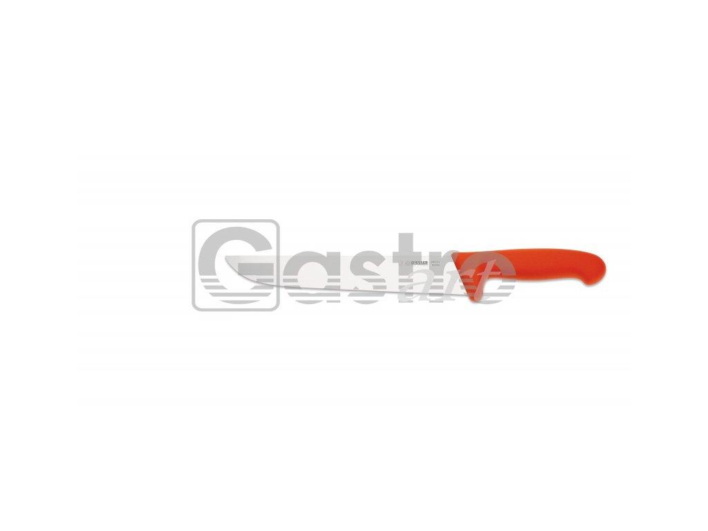 Nůž na maso 24 cm - červený