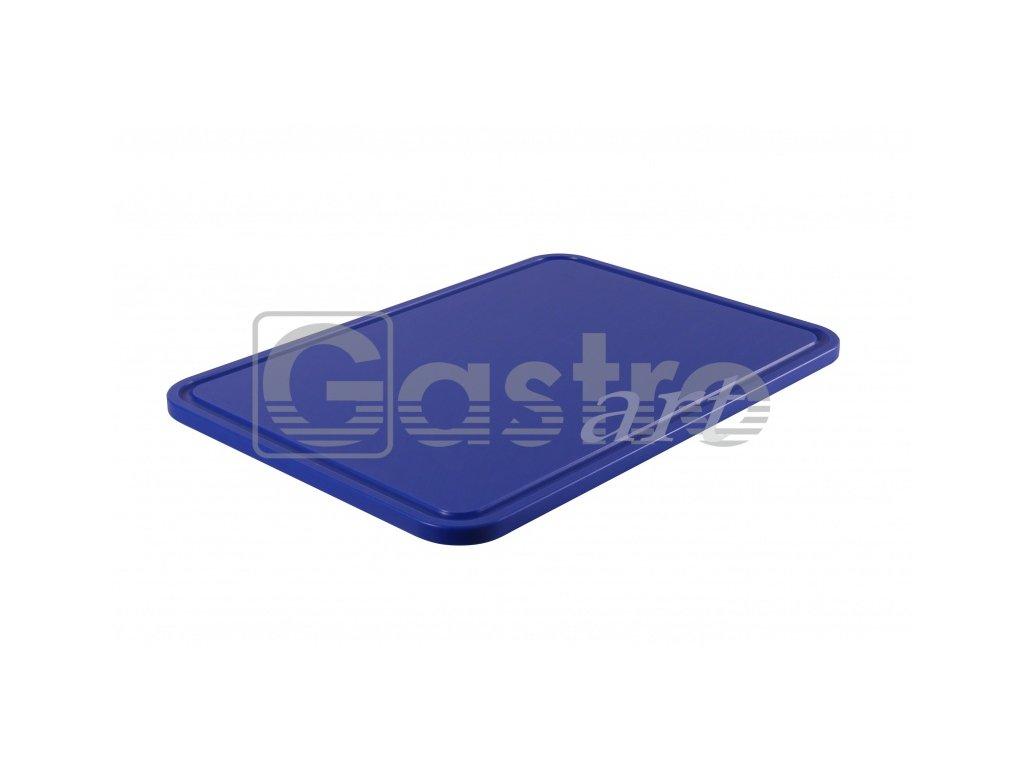PE deska 500x350x15 - modrá