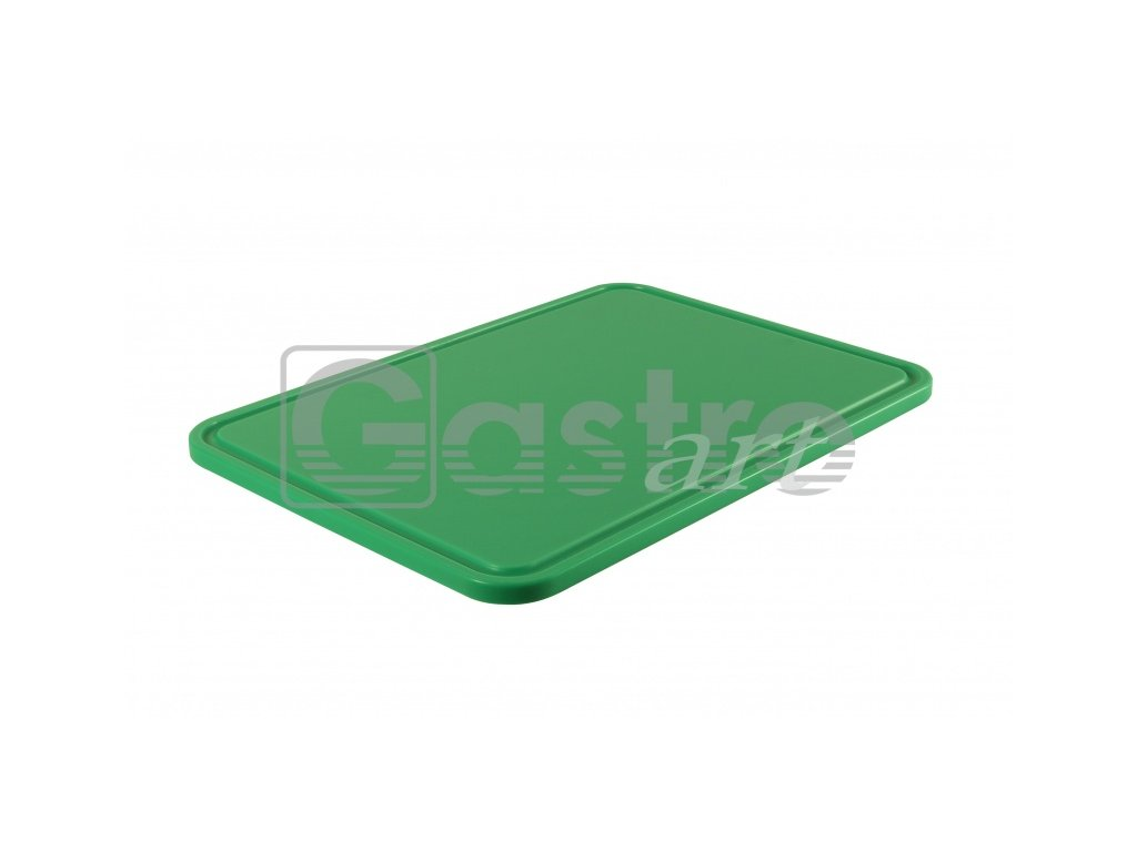 PE deska 500x350x15 - zelená