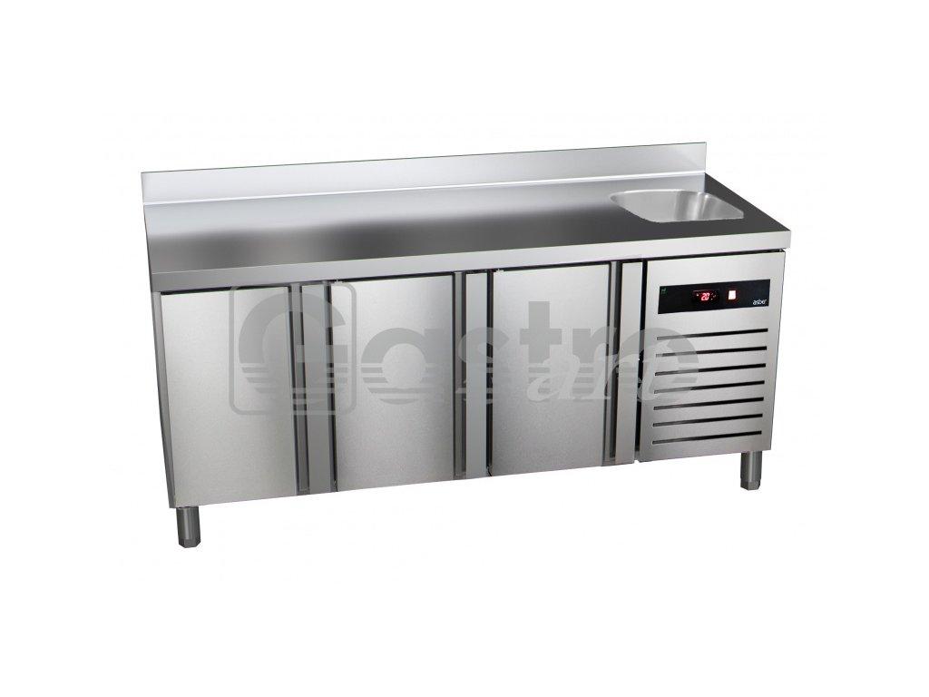 Chladící stůl GTP-7-180-30 - agregát vpravo