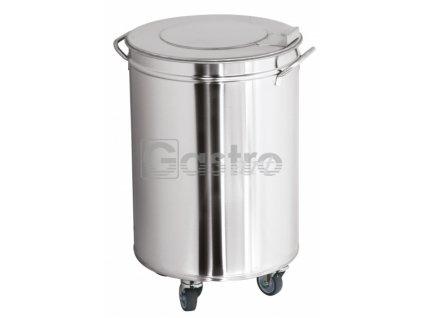 Koš s poklopem (75 litrů, ⌀450mm, v=630 mm)