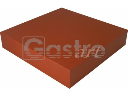 Blok 500x500x100 červenohnědý
