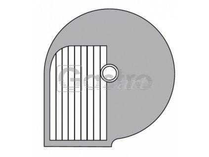 Kotouč B 8  Φ 205 mm, řez 8 mm