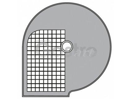 Kotouč D 8x8 Φ 205 mm, řez 8x8 mm