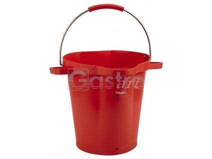 Vědro 20 litrů - červené