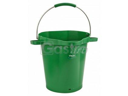 Vědro 20 litrů - zelené