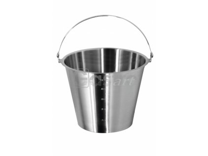 Vědro bez podstavy (Ø300 mm, 12 l) nerez ECO