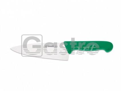 Nůž kuchařský 20 cm - zelený