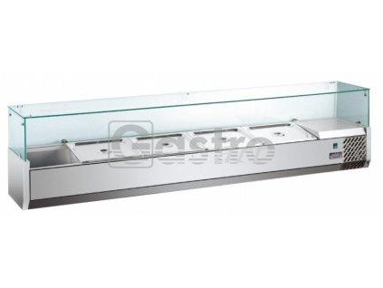 Pizza chladící pultová vitrína MVRX1200-1/4