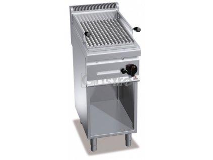 Plynový lávový gril Bertos PLG40M