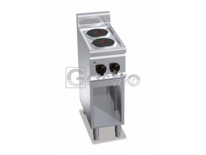 Elektrický sporák Bertos E6P2M
