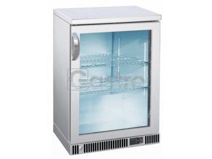 Nápojová vitrína nerez SGD-150-85 S/S