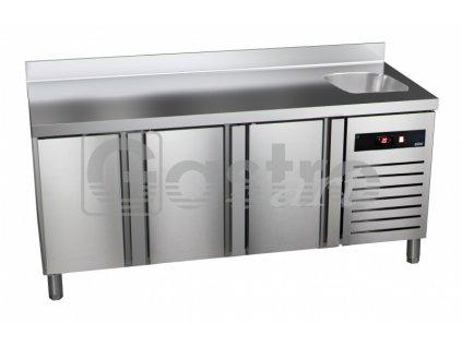 Chladící stůl GTP-7-180-30 - agregát vlevo