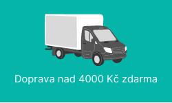 Doprava nad 4 000 Kč zdarma