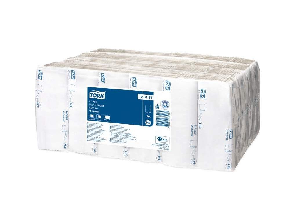 TORK H3 papírové ručníky šedé 1-vrstvé, 24x192 ks