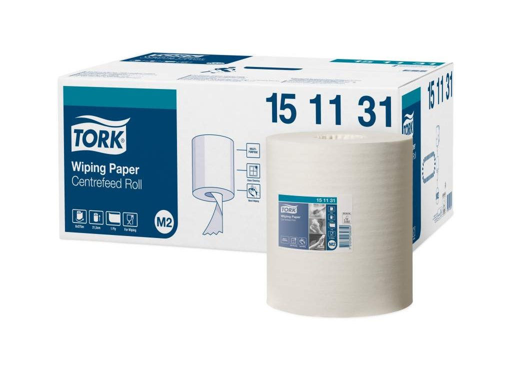 TORK Advanced M2 papírová utěrka se středovým odvíjením 1-vrstvá 6 ks v bal