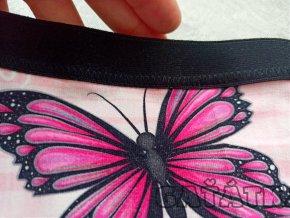 Lemovací pruženka hladká 20mm - bílá