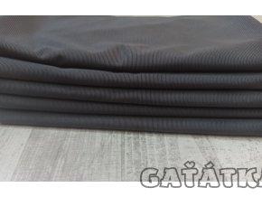 Pružný tyl - tmavě šedá- 50x150cm