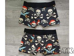 Pruženka tkaná 30mm - do boxerek - Černá