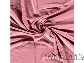 Bambusový úplet s elastanem - tmavě růžová