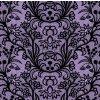 Bavlněný úplet PŘEDOBJEDNÁVKA - fialová krajka