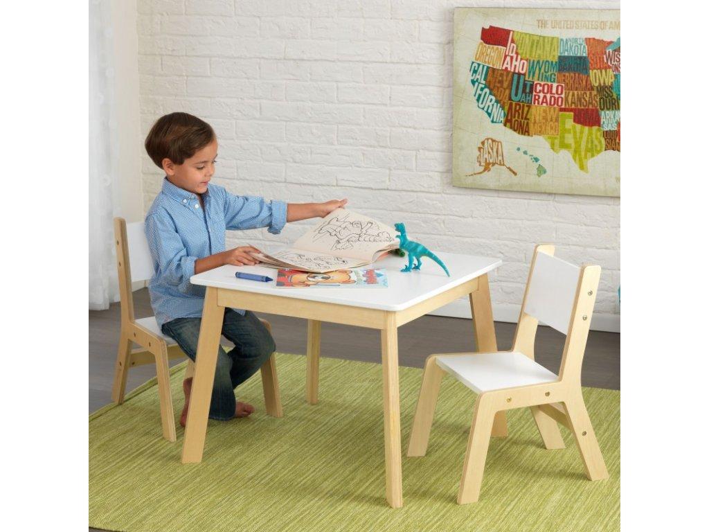 Stůl + 2 židličky MODERN