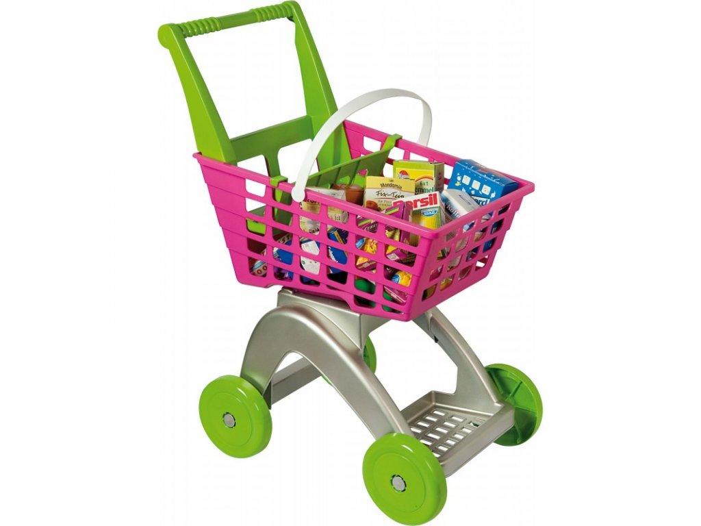 AG Nákupní vozík + 12 miniatur zboží