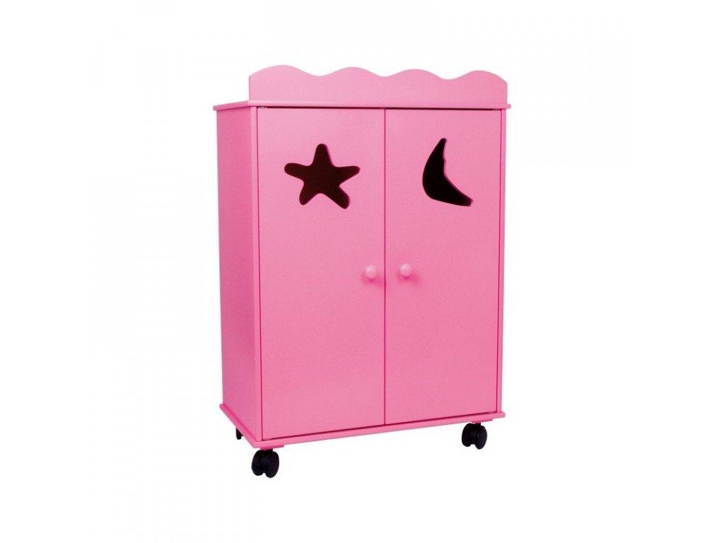 LEGLER Skříň pro panenky PINK