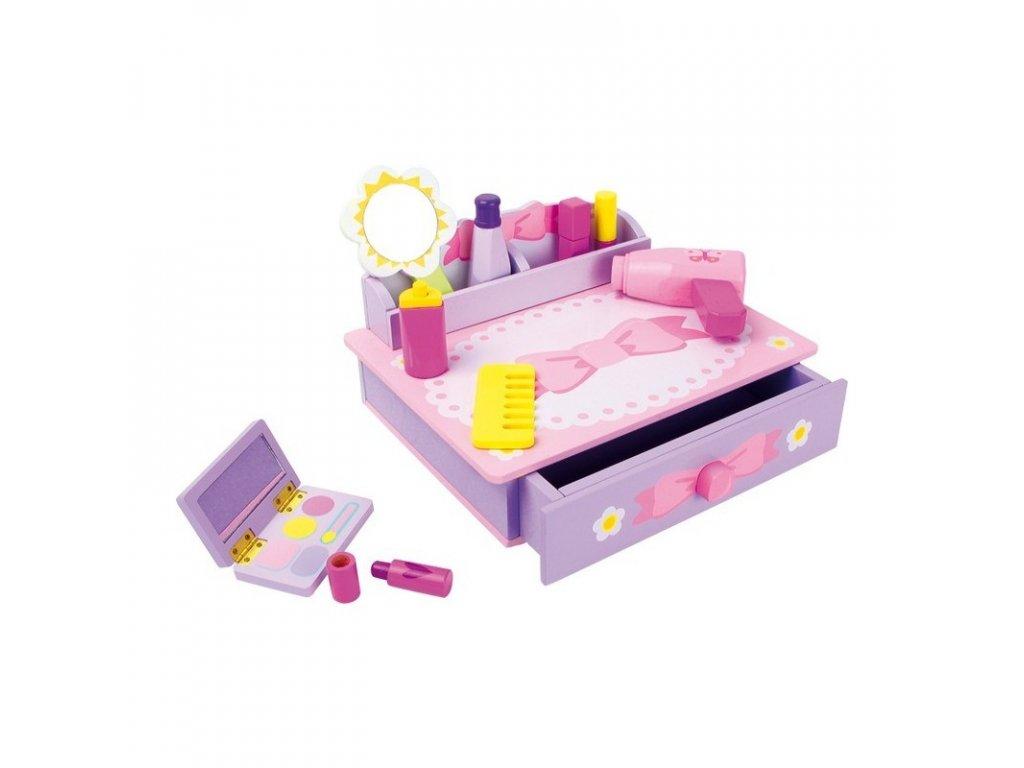 LEGLER Kosmetický stolek MAŠLIČKA