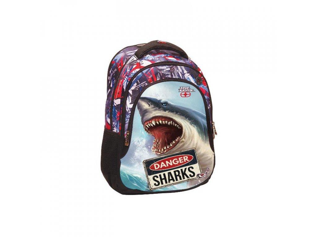 BMU Baťoh NO FEAR - SHARK
