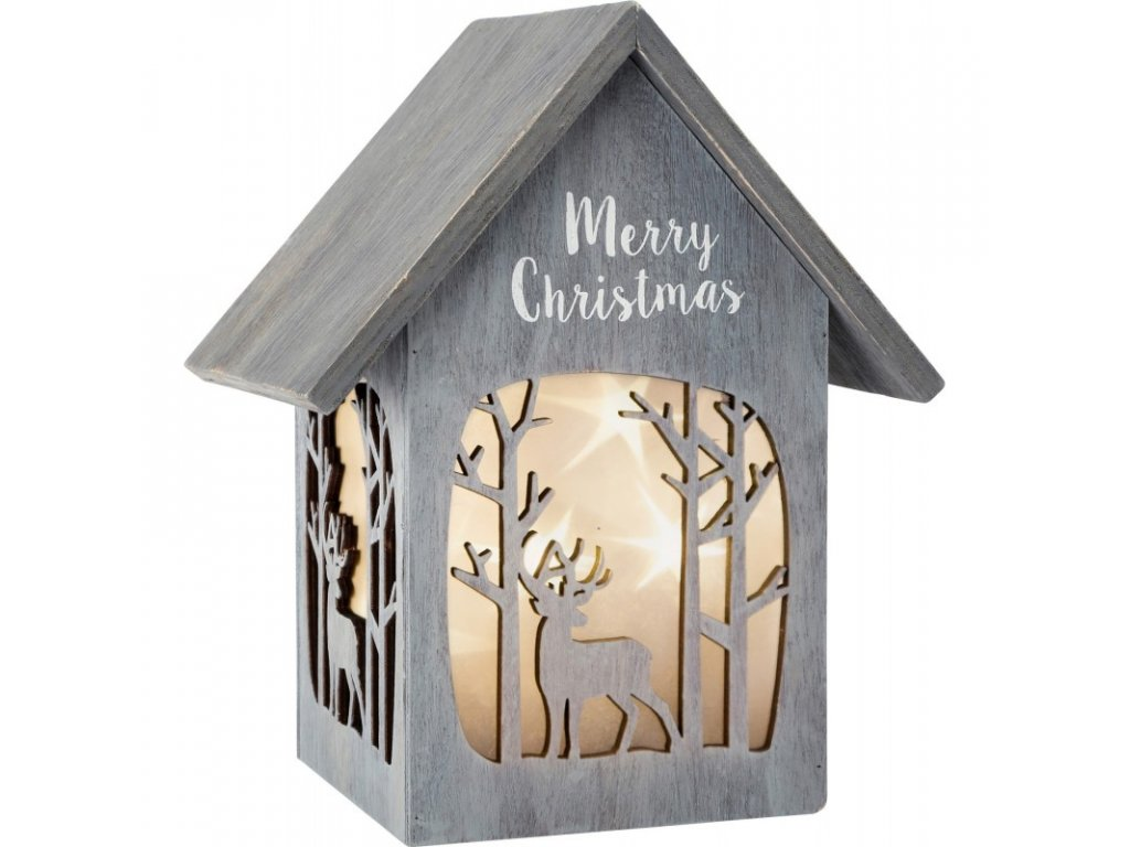 LUCERNA SHABBY CHIC MERRY CHRISTMAS