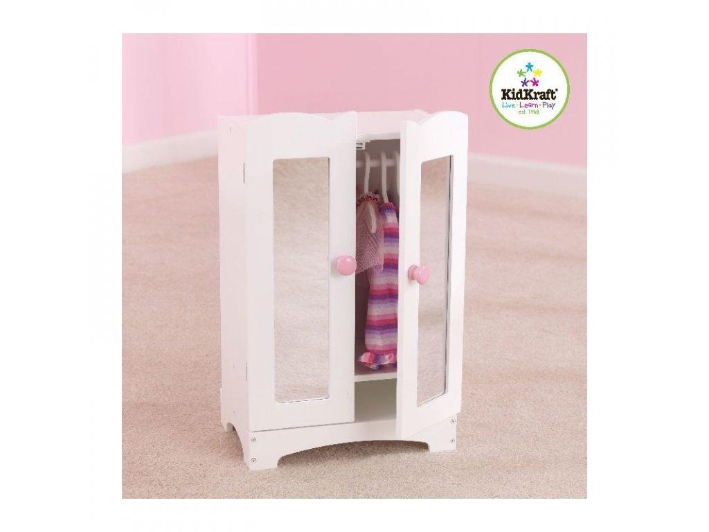 KidKraft Šatní skříň LIL - nábytek pro panenky
