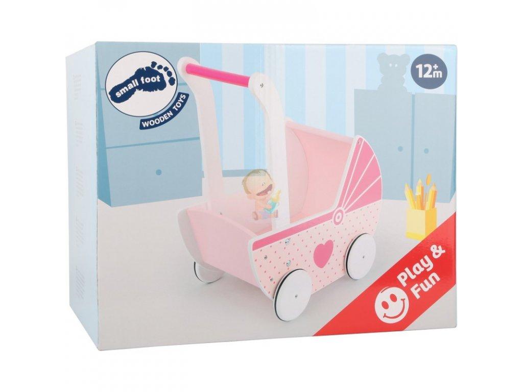 Kočárek pro panenky PINK DREAM