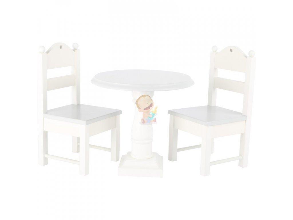 Nábytek pro panenky WHITE