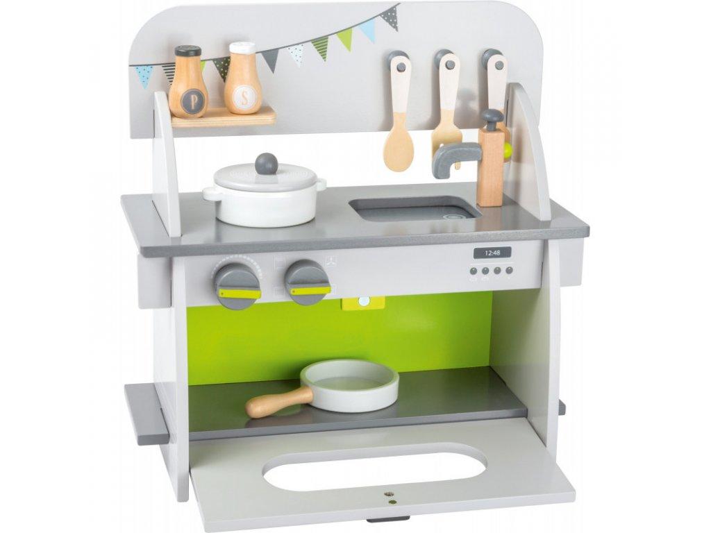 SMALL FOOT Dřevěná kuchyňka COMPACT PLAY