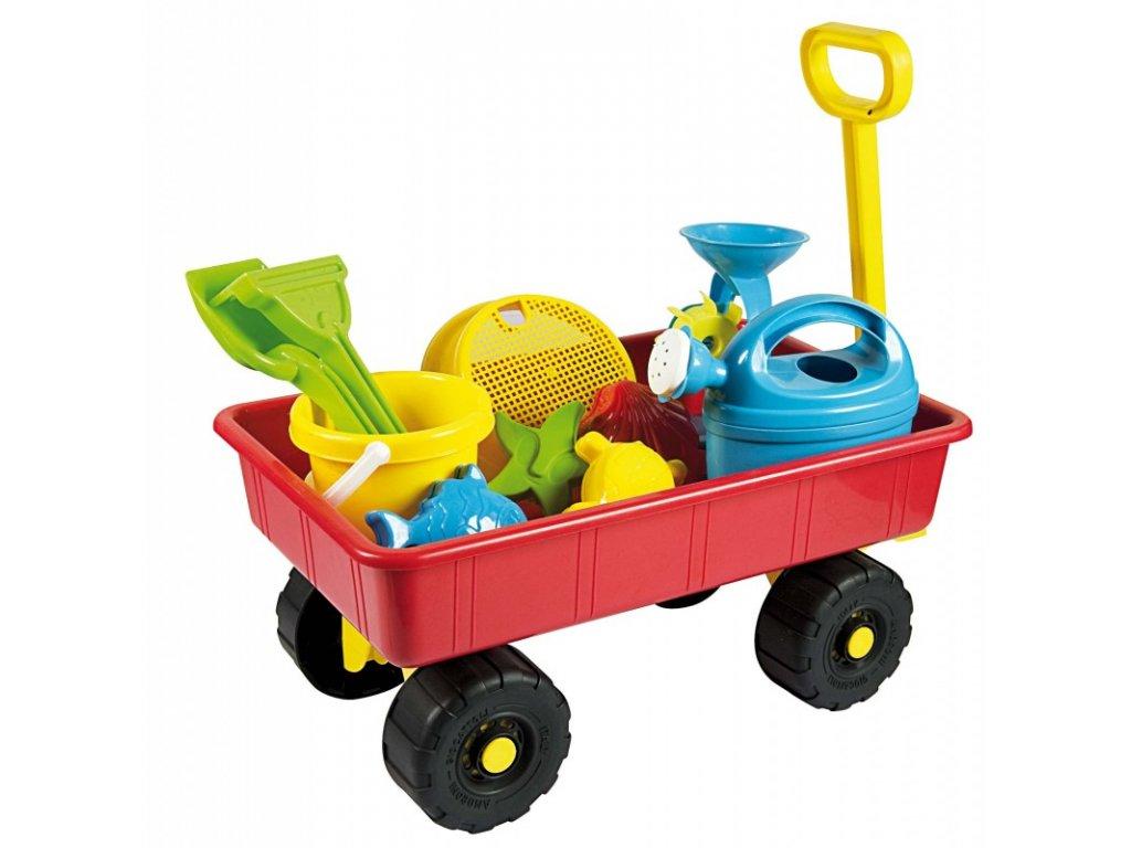AG Set na písek ve vozíčku