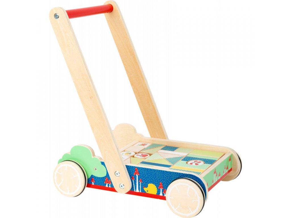 Dřevěný vozíček(chodítko) MOVE IT