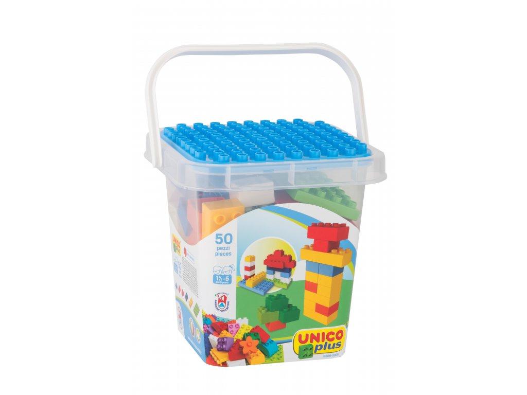 Unico Plus Basic - Box s kostkami 50 ks
