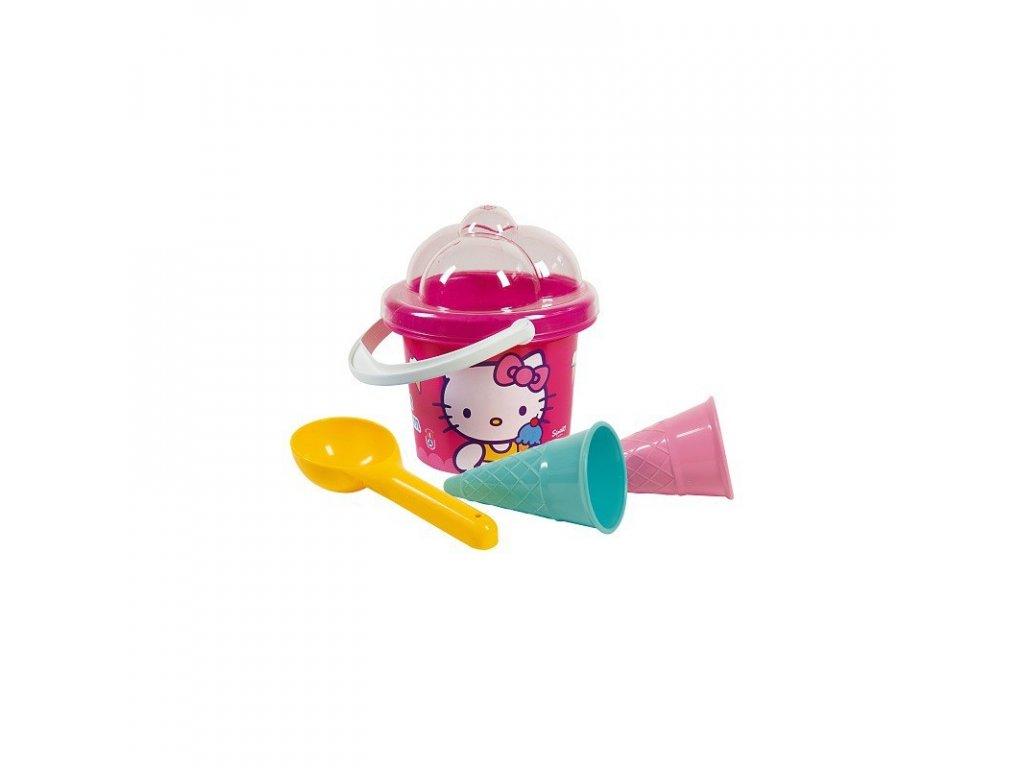 HELLO KITTY Výroba zmrzliny