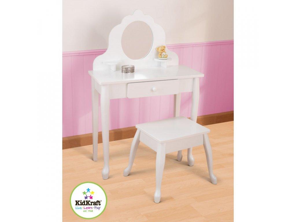 Toaletní stoleček s židličkou MEDIUM - dětský nábytek