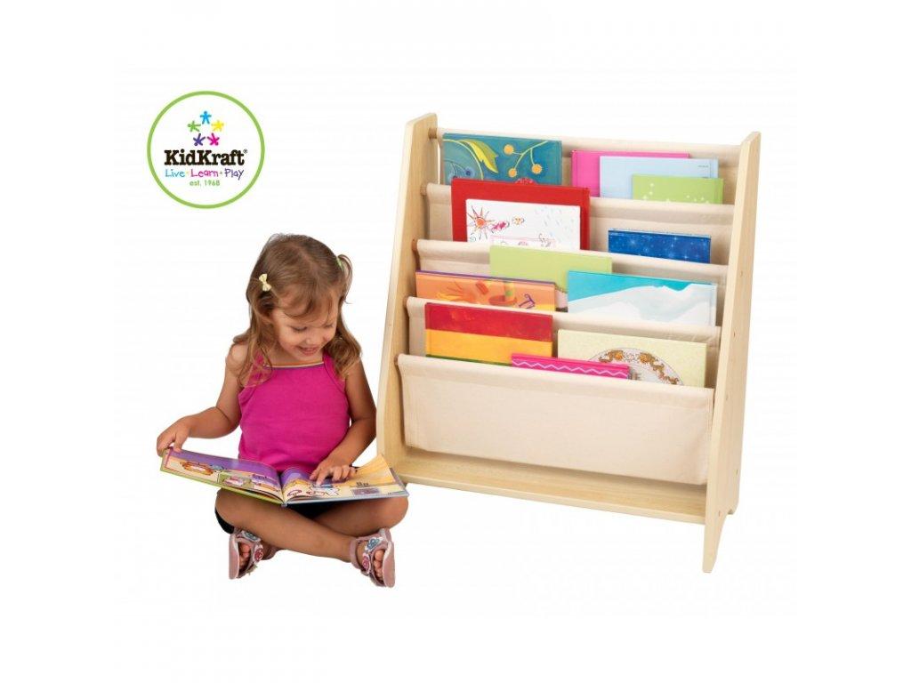 Stojan na knihy NATURAL - dětský nábytek
