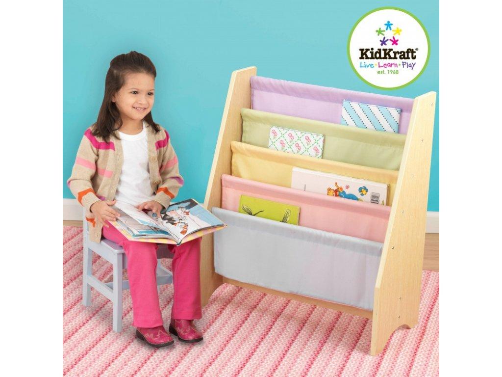 Stojan na knihy PASTEL - dětský nábytek