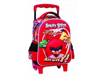 Baťůžek Junior ANGRY BIRDS- na kolečkách