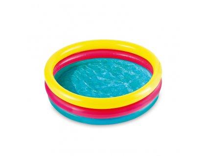 Nafukovací bazének tří komorový