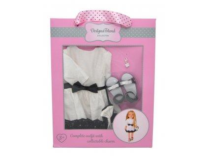 Společenské šaty pro panenky Designa
