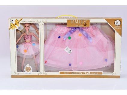 Panenka se sunkýnkou pro holčičku - růžová