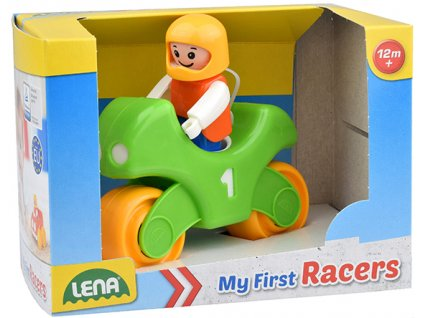 My First Racers motorka v okr. krabici